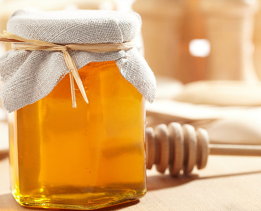 Raw Bergamot Honey