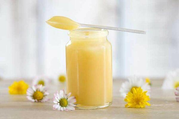 Cream honey from Taiga with Royal Jelly