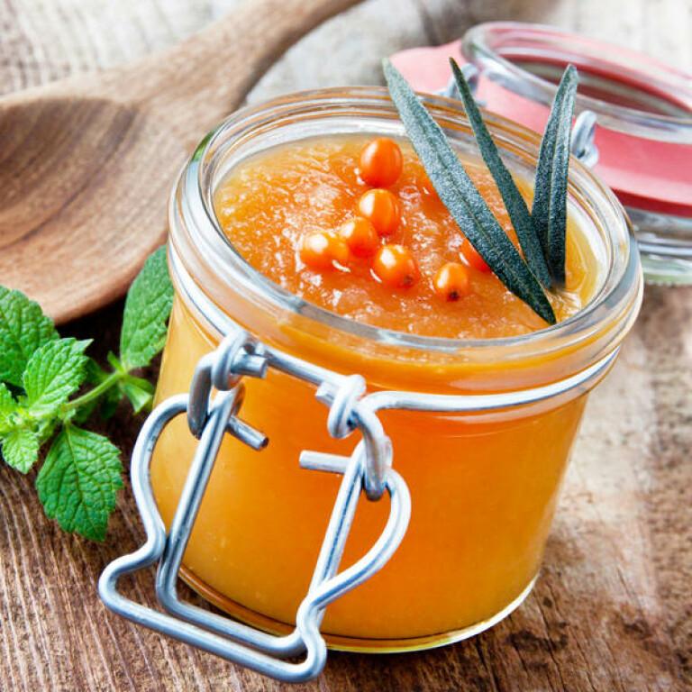 Cream Honey with Sea Buckthorn