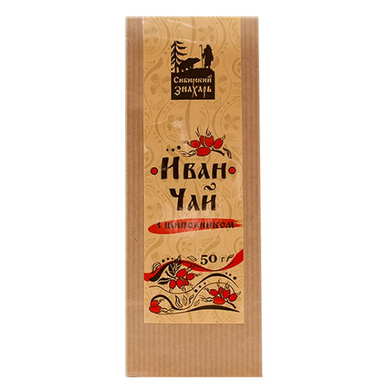 Ivan Chai tea with rose hip (50g)