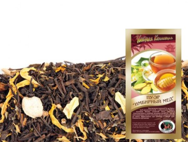 "Pu-Erh Tea ""Ginger Honey"" (50g)"