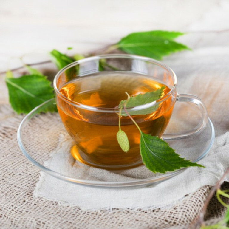 Chaga Tea with linden flowers