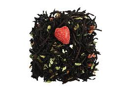 Black Tea Wild strawberry  with Cream- Hand Picked Tea