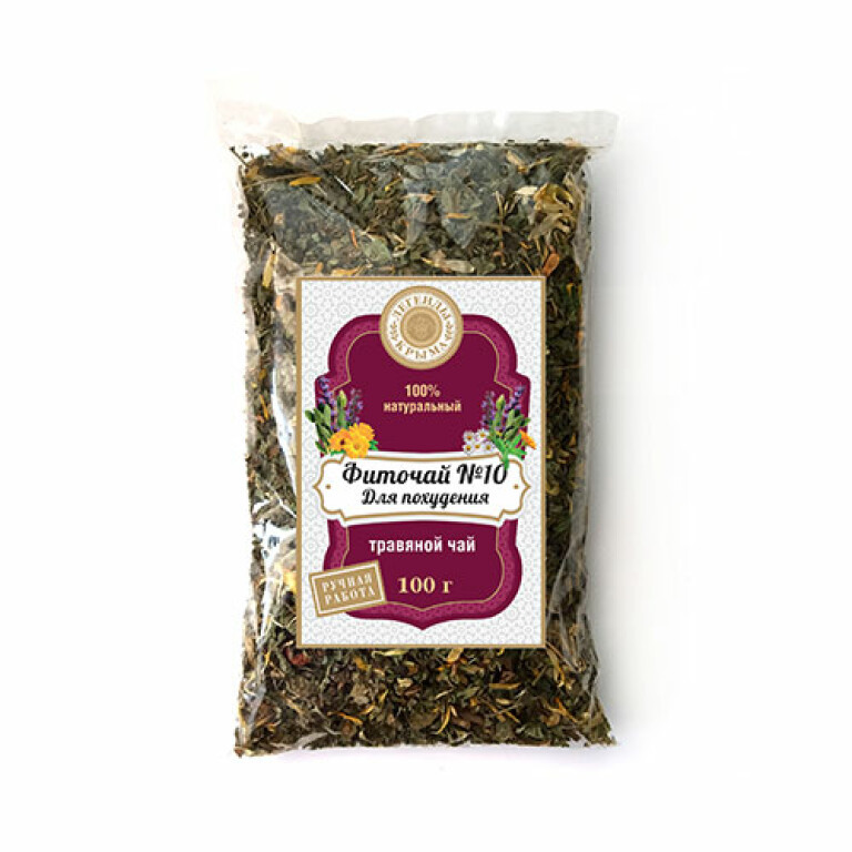 """Herbal tea #10  """"For weight loss"""""""