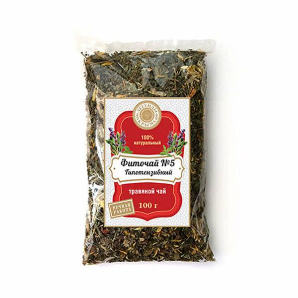 Herbal tea No. 5 Hypotensive