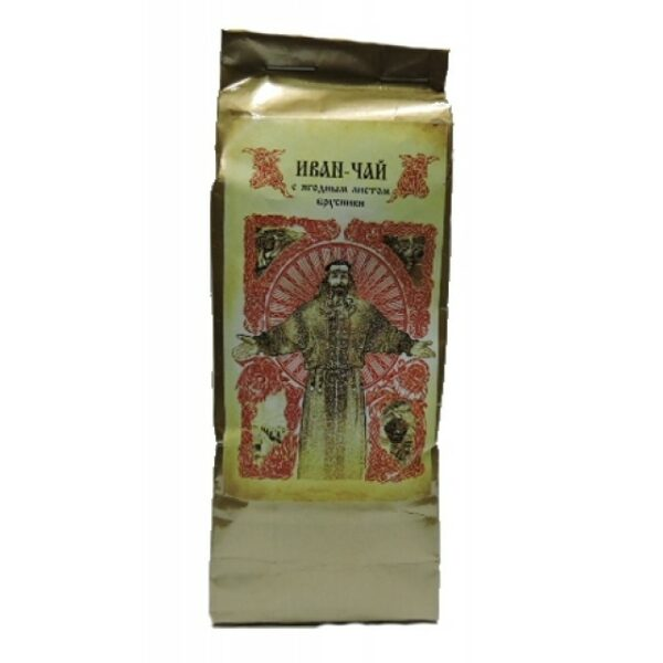 Ivan Chai Small-leaved  tea with lingonberry leaf (Spirit of Taiga), 50 gr - 100gr