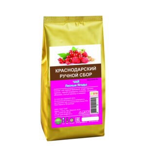 Black long tea top grade Forest Berries 50 gr - Hand Picked Tea