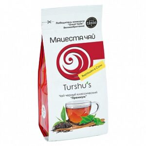"Classic black long leaf  tea ""Premium""  - Hand Picked Tea 100g"