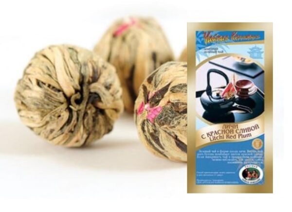 """Elite Tea """"Lychee with red plum"""" (50g)"""