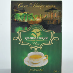 "Green long leaf  tea ""Extra""  Dagomyschay 100g -Hand Picked Tea"