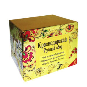"Green tea ""Caucasian herbs"" khokhloma 50 gr -Hand Picked Tea"