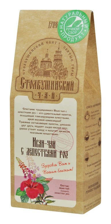 Ivan tea with rose petals 30 gr.