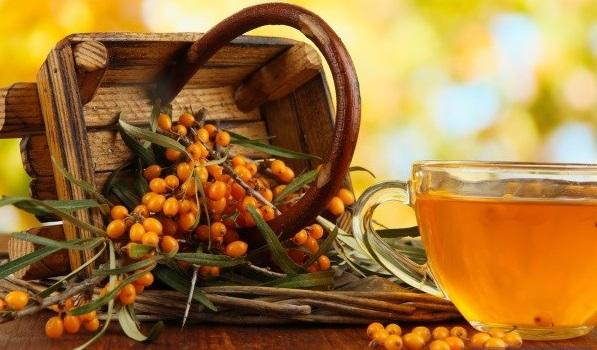 Ivan leaf tea with sea buckthorn leaves and berries  50 g