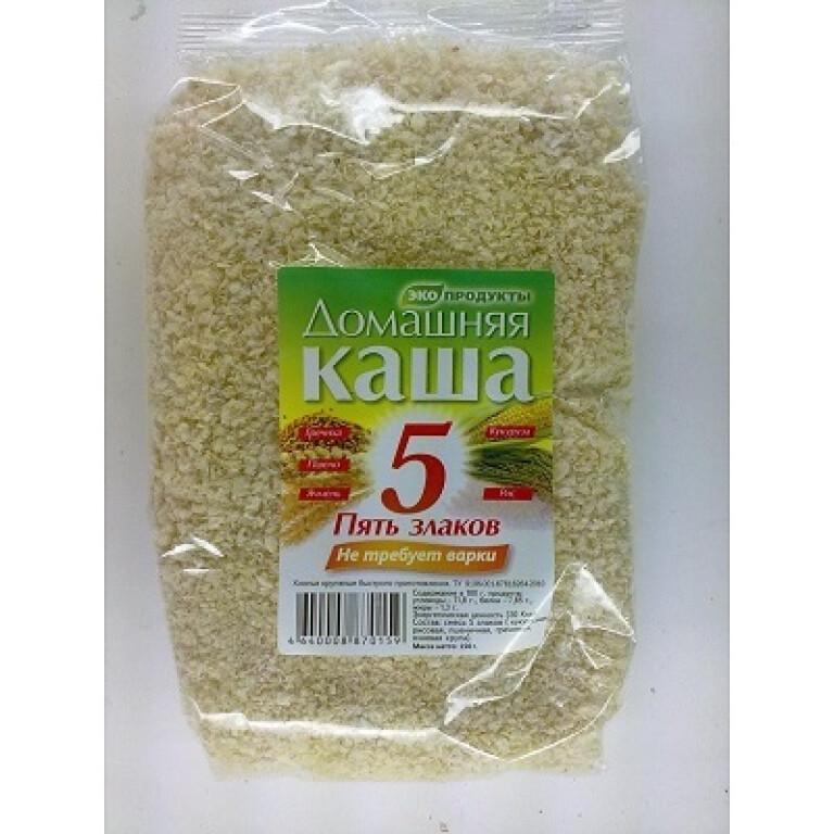 Fast multi-cereal porridge,  Home, 5 cereals,  150 g