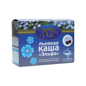 "Linseed porridge ""Elfa"" (cherry), 7 bags of 20 gr"