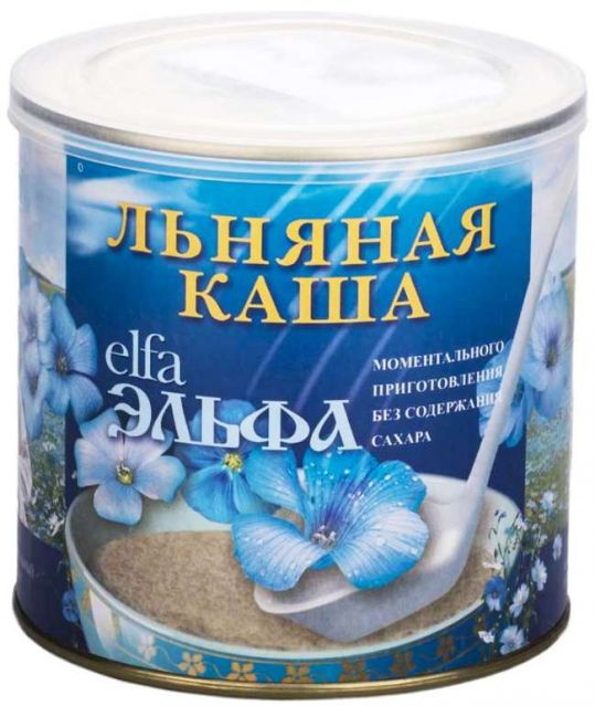 Natural linseed porridge, 400 g