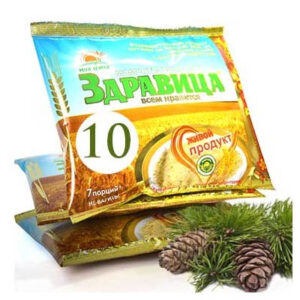 Porridge ZDRAVITSA No. 10 Smile, 7 portions, 200 g