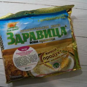 "Porridge Zdravitsa No. 30 ""Wheat-linen"" 7 portions, 200 g"