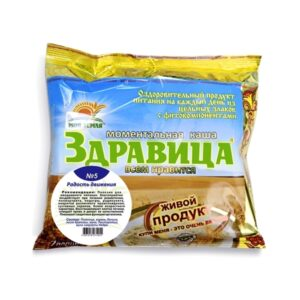 "Porridge 'Zdravitsa' No. 5 ""Joy of movement"", 7 portions, 200 g"