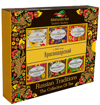 """Tea collection """"Russian traditions"""""""