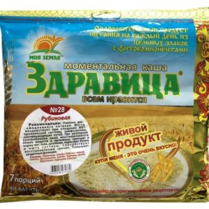 Zdravitsa Porridge No. 28 Ruby 7 portions, 200 g