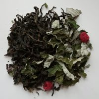 Ivan tea with raspberries, fermented leaf) with raspberry leaves and berries, 50 g